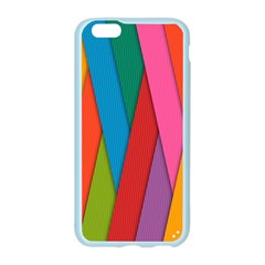 Colorful Lines Pattern Apple Seamless iPhone 6/6S Case (Color)