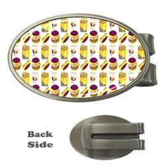 Hamburger And Fries Money Clips (oval)