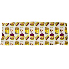 Hamburger And Fries Body Pillow Case (Dakimakura)