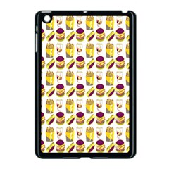 Hamburger And Fries Apple iPad Mini Case (Black)