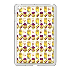 Hamburger And Fries Apple iPad Mini Case (White)