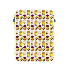 Hamburger And Fries Apple iPad 2/3/4 Protective Soft Cases