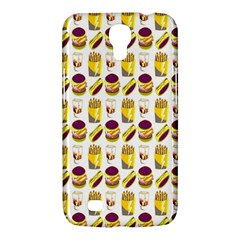 Hamburger And Fries Samsung Galaxy Mega 6.3  I9200 Hardshell Case