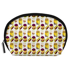 Hamburger And Fries Accessory Pouches (Large)