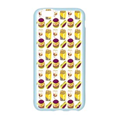 Hamburger And Fries Apple Seamless iPhone 6/6S Case (Color)