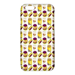 Hamburger And Fries iPhone 6/6S TPU Case
