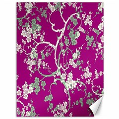 Floral Pattern Background Canvas 36  x 48