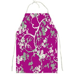 Floral Pattern Background Full Print Aprons