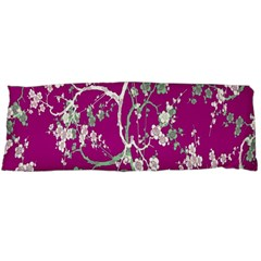 Floral Pattern Background Body Pillow Case Dakimakura (Two Sides)