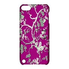 Floral Pattern Background Apple Ipod Touch 5 Hardshell Case With Stand