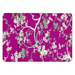 Floral Pattern Background Samsung Galaxy Tab 8.9  P7300 Flip Case