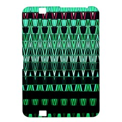Green Triangle Patterns Kindle Fire HD 8.9