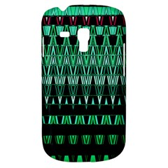 Green Triangle Patterns Galaxy S3 Mini