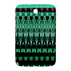 Green Triangle Patterns Samsung Galaxy Note 8.0 N5100 Hardshell Case