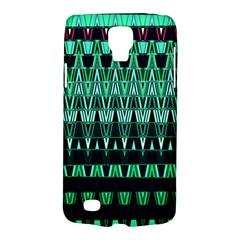 Green Triangle Patterns Galaxy S4 Active