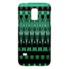 Green Triangle Patterns Galaxy S5 Mini