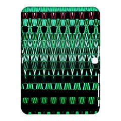 Green Triangle Patterns Samsung Galaxy Tab 4 (10 1 ) Hardshell Case