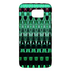 Green Triangle Patterns Galaxy S6
