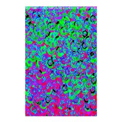 Green Purple Pink Background Shower Curtain 48  X 72  (small)