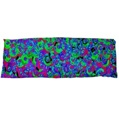 Green Purple Pink Background Body Pillow Case Dakimakura (two Sides)