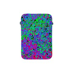 Green Purple Pink Background Apple iPad Mini Protective Soft Cases