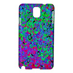 Green Purple Pink Background Samsung Galaxy Note 3 N9005 Hardshell Case