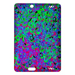 Green Purple Pink Background Amazon Kindle Fire HD (2013) Hardshell Case