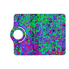 Green Purple Pink Background Kindle Fire HD (2013) Flip 360 Case