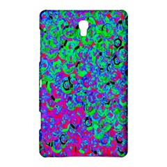 Green Purple Pink Background Samsung Galaxy Tab S (8.4 ) Hardshell Case