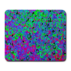 Green Purple Pink Background Large Mousepads