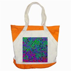 Green Purple Pink Background Accent Tote Bag