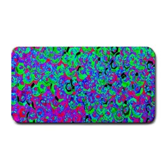 Green Purple Pink Background Medium Bar Mats