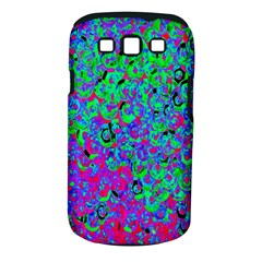 Green Purple Pink Background Samsung Galaxy S III Classic Hardshell Case (PC+Silicone)