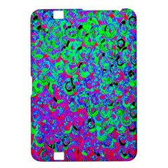 Green Purple Pink Background Kindle Fire HD 8.9