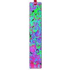 Green Purple Pink Background Large Book Marks