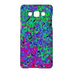 Green Purple Pink Background Samsung Galaxy A5 Hardshell Case