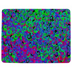Green Purple Pink Background Jigsaw Puzzle Photo Stand (Rectangular)
