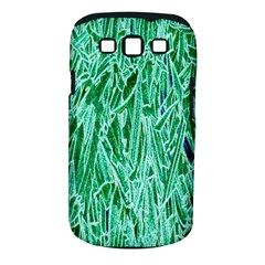 Green Background Pattern Samsung Galaxy S III Classic Hardshell Case (PC+Silicone)