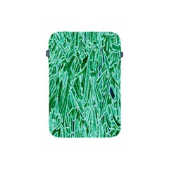 Green Background Pattern Apple iPad Mini Protective Soft Cases