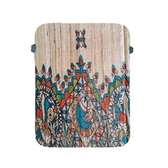 Blue Brown Cloth Design Apple iPad 2/3/4 Protective Soft Cases
