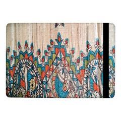 Blue Brown Cloth Design Samsung Galaxy Tab Pro 10.1  Flip Case