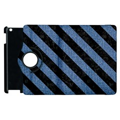STR3 BK-MRBL BL-DENM (R) Apple iPad 2 Flip 360 Case