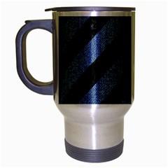 STR3 BK-MRBL BL-DENM Travel Mug (Silver Gray)