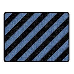 STR3 BK-MRBL BL-DENM Fleece Blanket (Small)