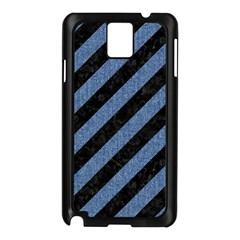 STR3 BK-MRBL BL-DENM Samsung Galaxy Note 3 N9005 Case (Black)