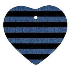 STR2 BK-MRBL BL-DENM Ornament (Heart)
