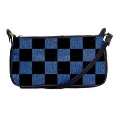 SQR1 BK-MRBL BL-DENM Shoulder Clutch Bags