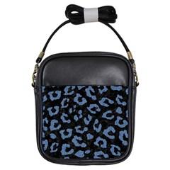SKN5 BK-MRBL BL-DENM (R) Girls Sling Bags