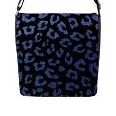 SKN5 BK-MRBL BL-DENM (R) Flap Messenger Bag (L)