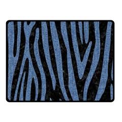 SKN4 BK-MRBL BL-DENM (R) Fleece Blanket (Small)